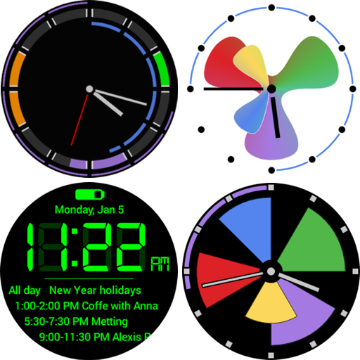 Calendar Watch Face Pack Icon
