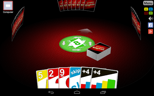 Crazy Eights 3D: miniatuur van screenshot