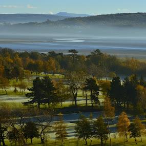 Mist on the Estuary by Jo Darlington - Novices Only Landscapes