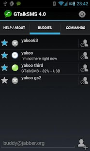 GTalkSMS - screenshot thumbnail