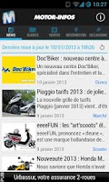 Screenshot of Motor-infos