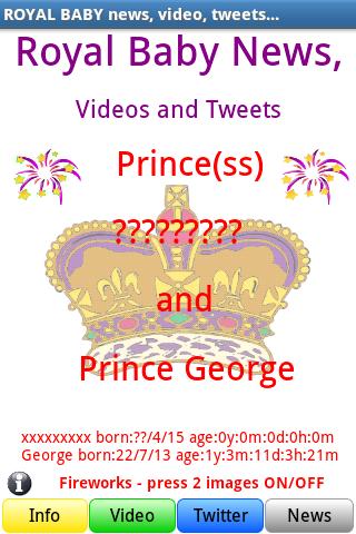ROYAL BABY +PRINCE GEORGE NEWS