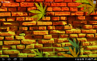 Screenshot of Weed Ganja Live Wallpaper