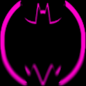 Pink Batcons Launcher Icons icon