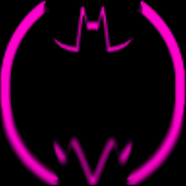 Pink Batcons Launcher Icons