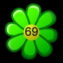 Flower battery widget icon