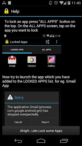 Lock Apps