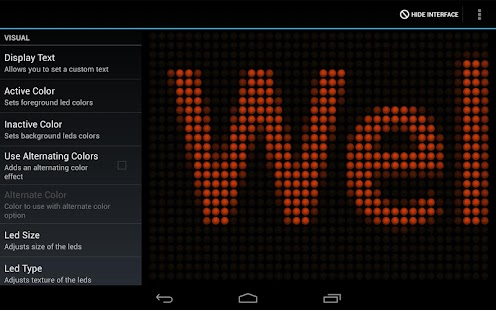 LED Flash Light Text Message - screenshot thumbnail