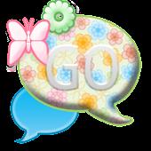 GO SMS THEME/SpringFlowersCPK