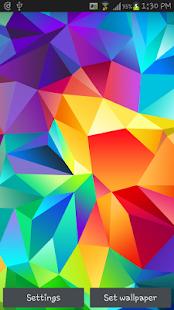 Galaxy S5 3D Live Wallpaper HD