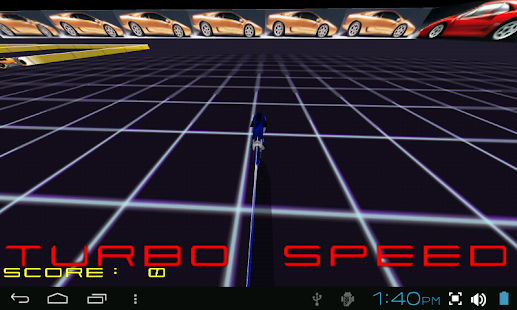 TRON LIGHTCYCLE ROCK RACE GAME- screenshot thumbnail