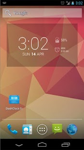 DashClock Battery Extension- screenshot thumbnail