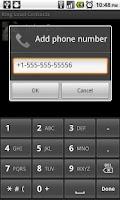 Screenshot of Ring Loud Contacts