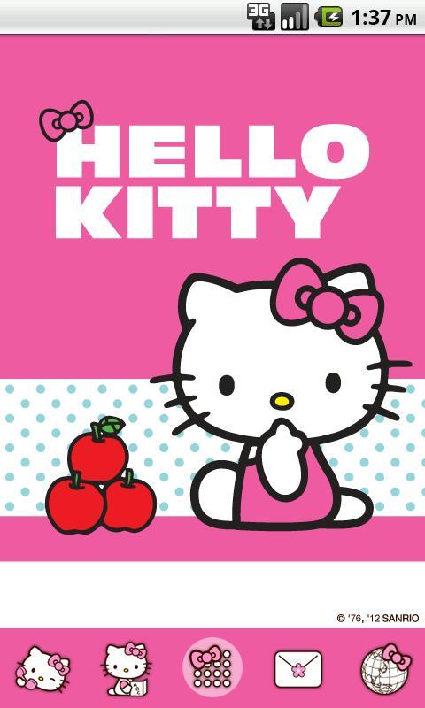Hello Kitty NiftyApple Theme