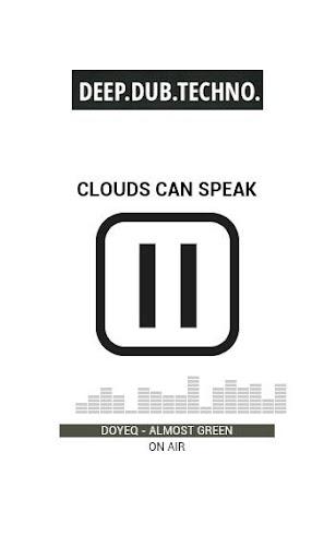 Clouds Can Speak Radio