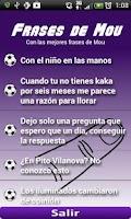 Screenshot of Frases Mourinho (Audio)