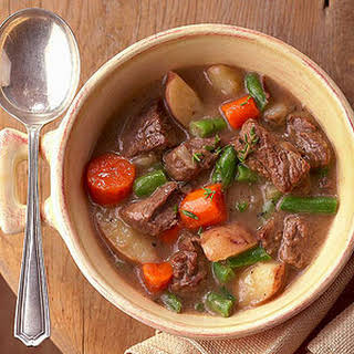 Hearty Vegetable Beef Stew.