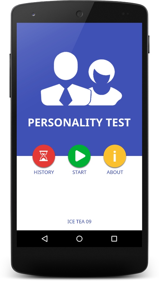 Personality Test 2016 Android Apps On Google Play