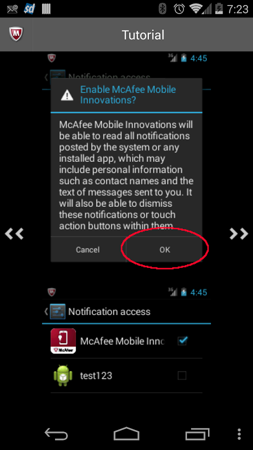 McAfee Security Innovations - screenshot