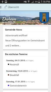Daheim - die Service App - náhled