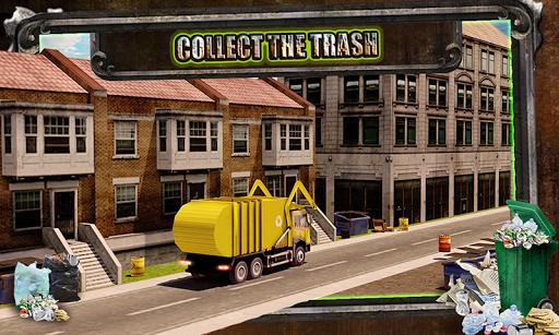 Garbage Trucker Recycling Sim