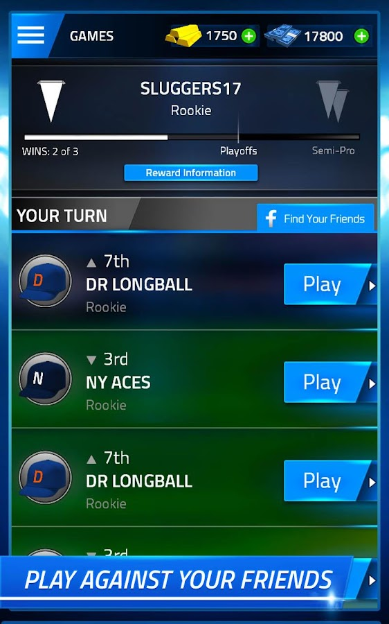 TAP SPORTS BASEBALL- screenshot