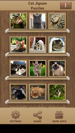 직소퍼즐 고양이 게임