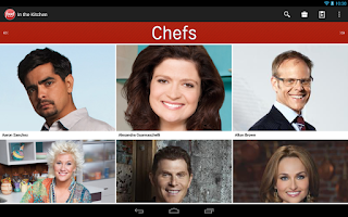 Screenshot of Food Network In the Kitchen