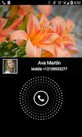 Screenshot of Video Caller Id