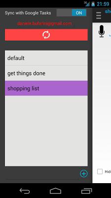 Reminders - screenshot