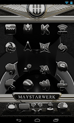 Next Launcher Theme Black Elephant APK screenshot thumbnail 2