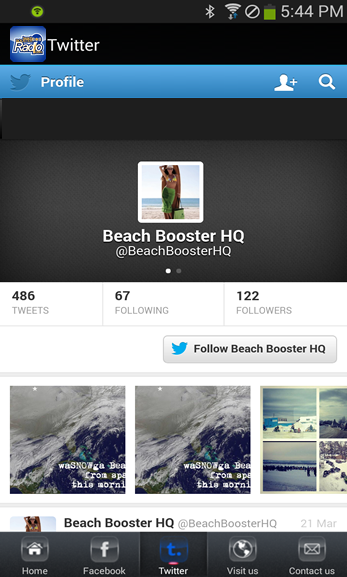 Beach Booster Radio- screenshot