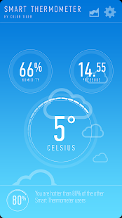 Smart Thermometer - screenshot thumbnail