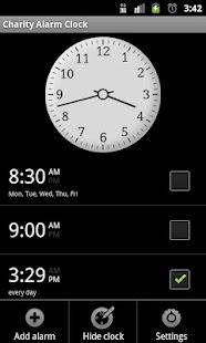 Charity Alarm - Pay to Snooze- screenshot thumbnail