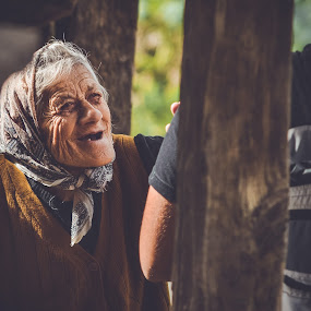 by Zec Mladen - People Street & Candids ( woman, candid, old woman, grandma, portrait,  )