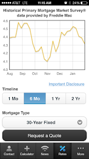 Matthew Harris' Mortgage Mapp - screenshot thumbnail
