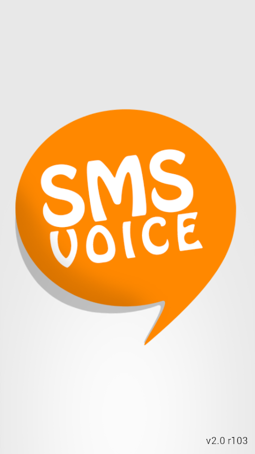 SMS Voice - screenshot