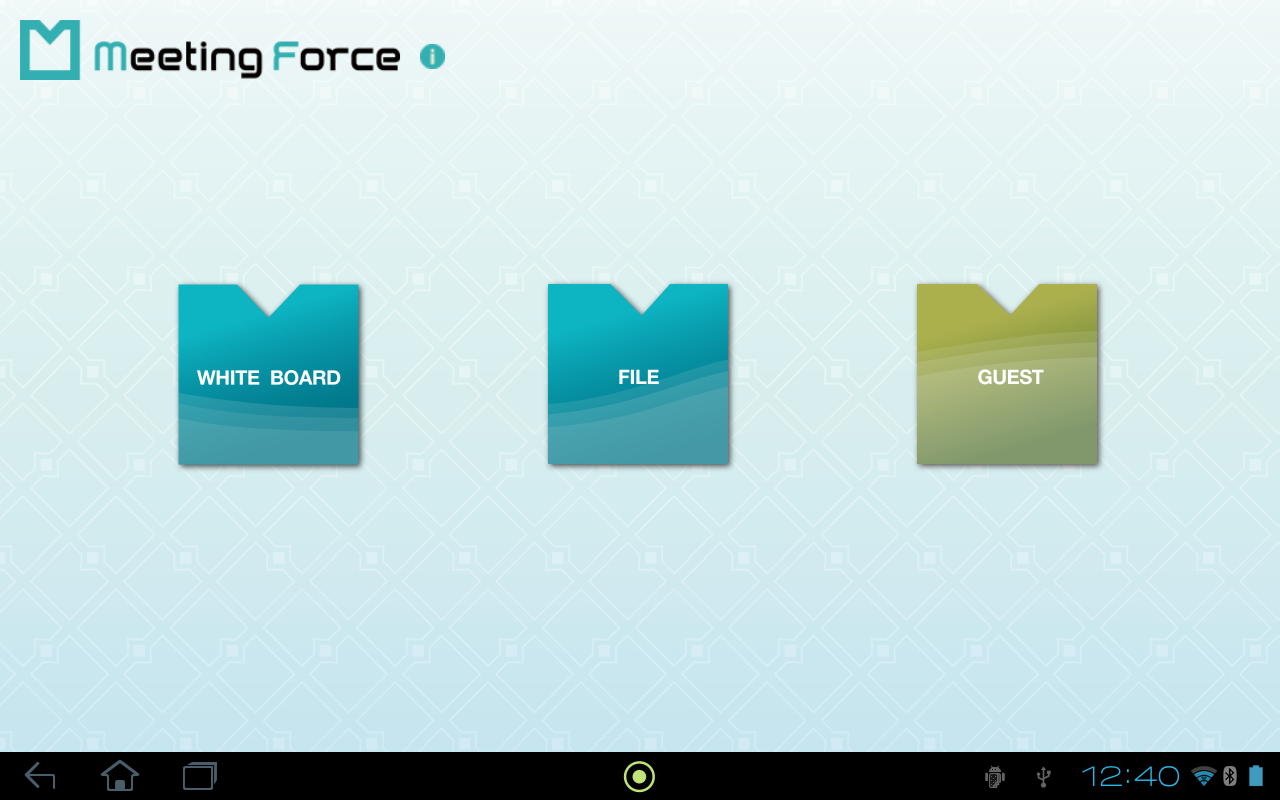 MeetingForce for Android- screenshot