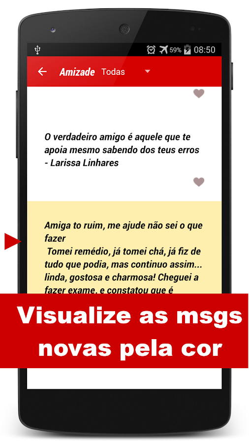 Mensagens Prontas p/ celular - screenshot