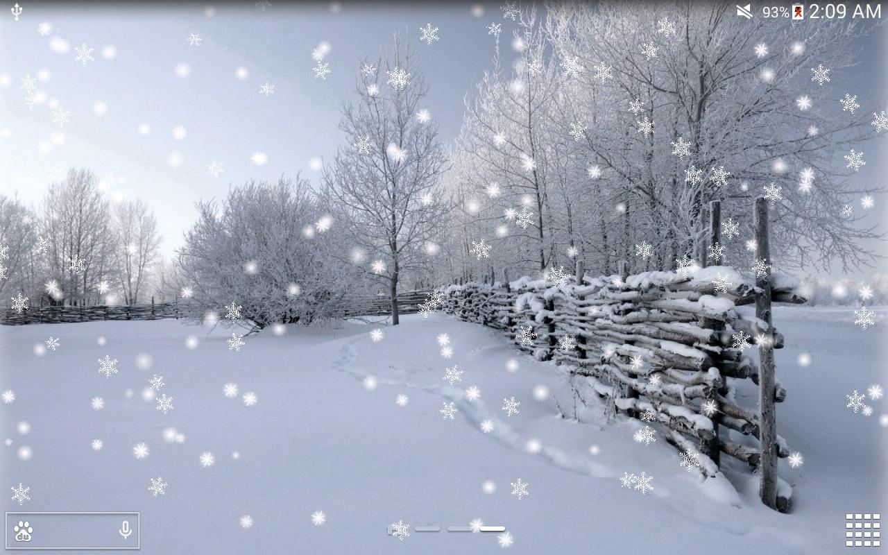 Winter Snow LWP NO AD Android Apps on Google Play
