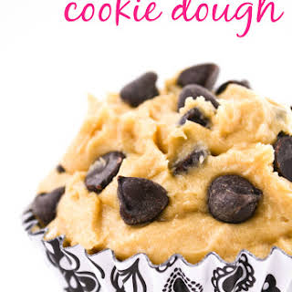 Edible Egg-less Chocolate Chip Cookie Dough.