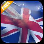 3D UK Flag Live Wallpaper icon