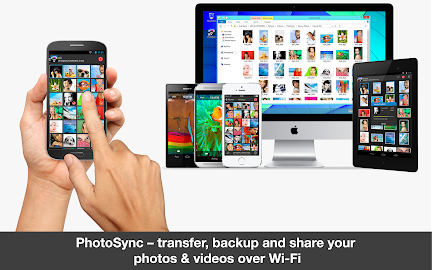 PhotoSync – Photo Transfer Screenshot 4