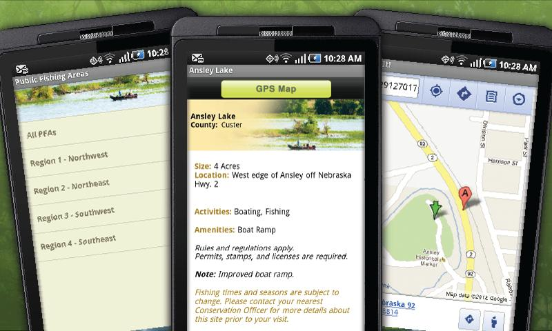 NE Fish & Wildlife Guide - screenshot