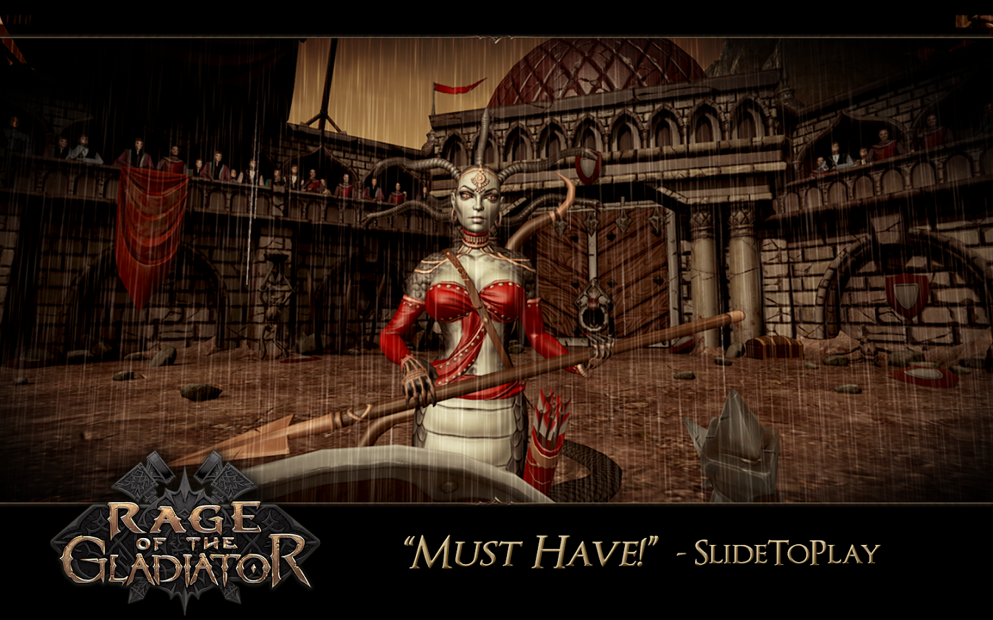 Rage of the Gladiator- screenshot