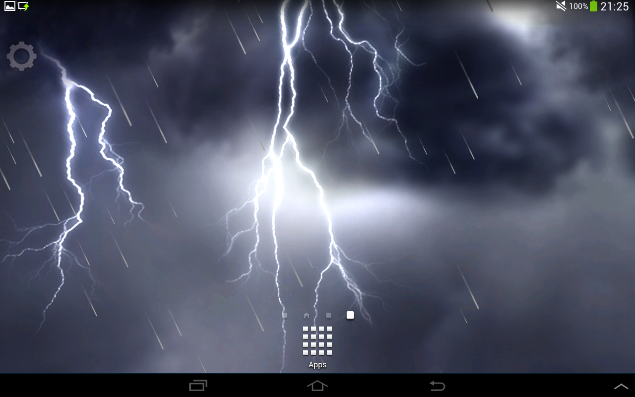 stormy lightning hd android apps on google play