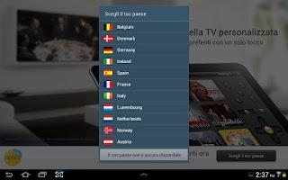 Screenshot of Peel Smart Remote (Europe)