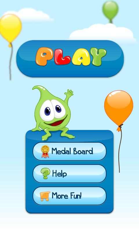 Kids balloon game: colours - screenshot