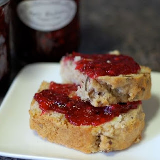 Apple Blackberry Thyme Jam.