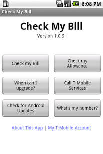 Check My Bill - screenshot thumbnail
